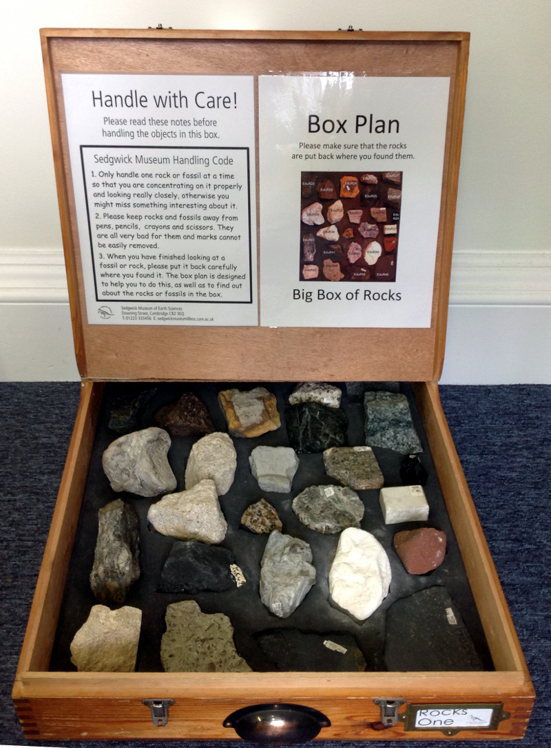 Rocks loan box
