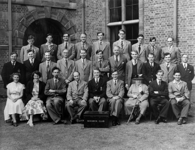 Sedgwick Club group photograph